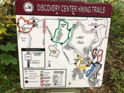 Discovery Center hiking trails map